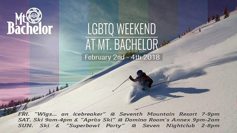 1st Ever LGBTQ Ski Weekend at Mt. Bachelor