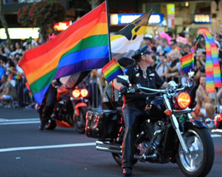 Dykes on Bikes- Central Oregon Pridefest