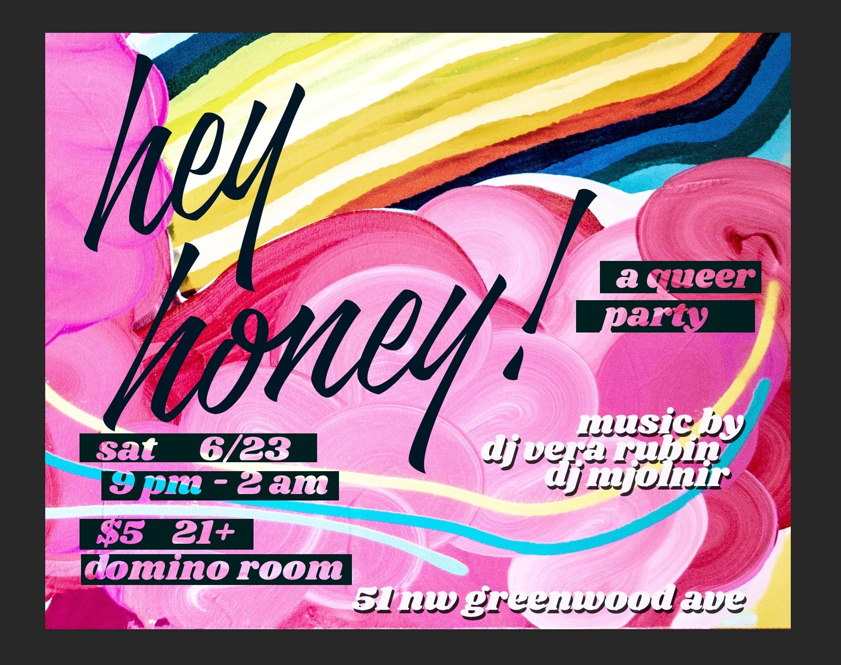 Hey Honey a Queer Party