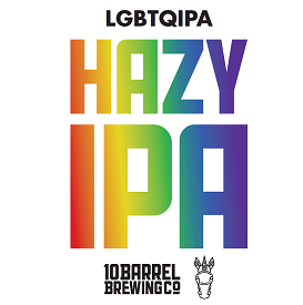Official PrideFest Beer – 10 Barrel LGBTQIPA