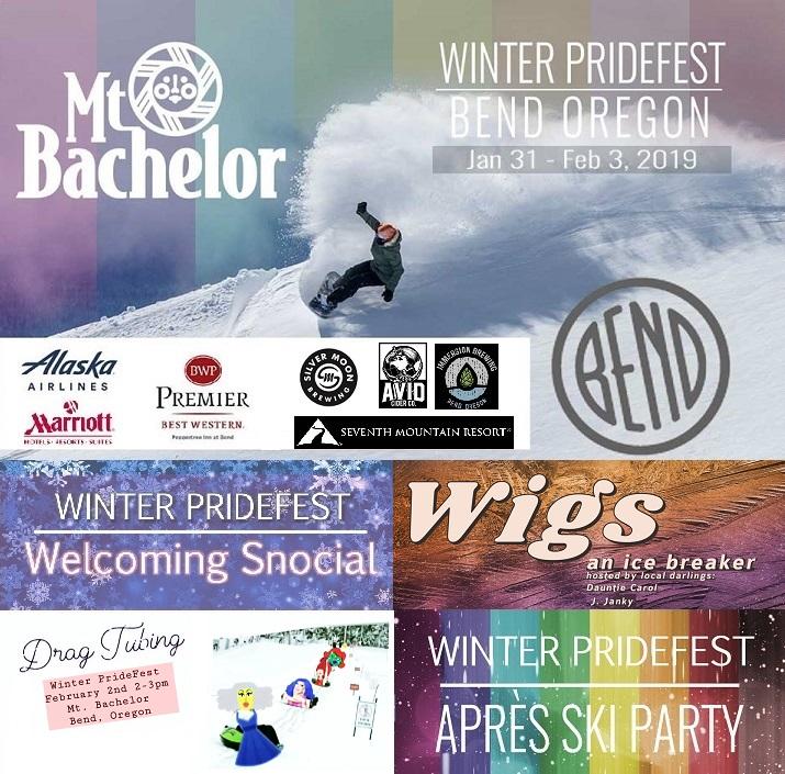 MT. BACHELOR AND VISIT BEND HOST WINTER PRIDEFEST 2019