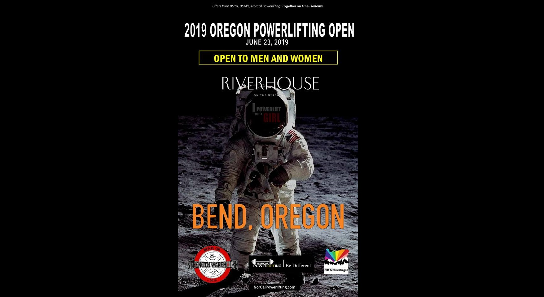 Norcal Powerlifting Oregon OPEN