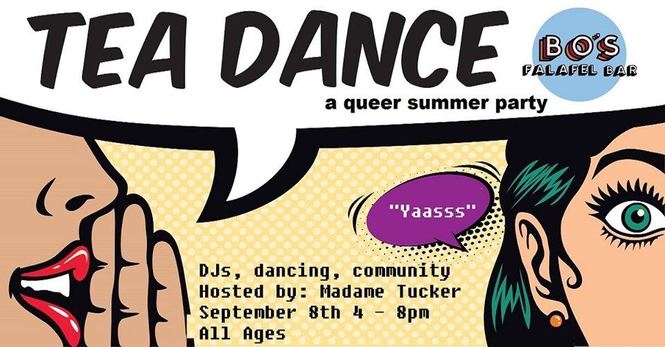 Tea Dance – a queer summer party