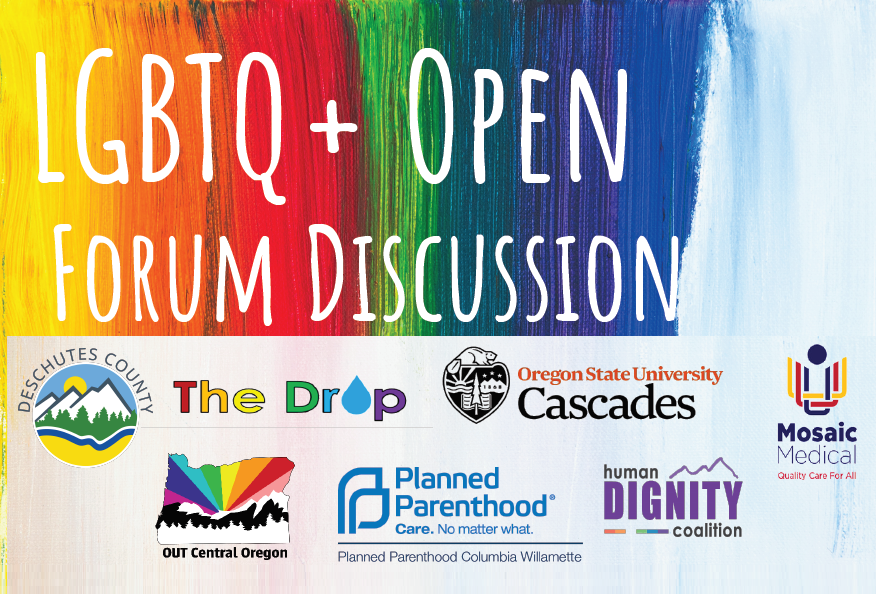 Lgbtq+ Open Forum Discussion – Deschutes County Health